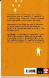 Nilsonne, Åsa - Mindfulness i hjärnan - back